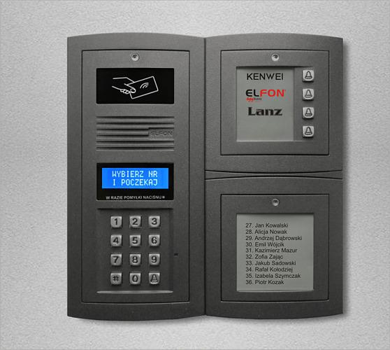 ELFON - Doorphone and Videodorphone Systems on